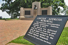 Lincoln Gettysburg Address Memorial, Gettysburg